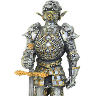 Pewter French Warrior with Sword