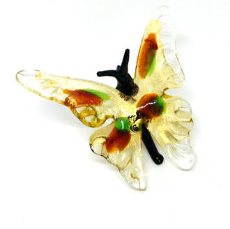 Murano Glass Ornament Butterfly 2