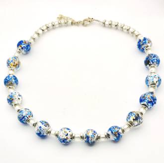 Murano Bead Necklace 46
