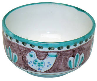 Italian Ceramics - Cereal Bowl Gallinelle Red