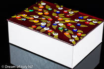 Murano glass box - large