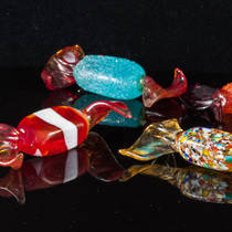 Murano Glass Candies Long