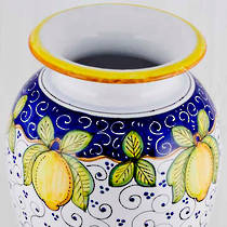 Hand-Painted Ceramics Dafne Vase