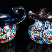 Murano Glass Fazzoletto Jug (2) 250ml