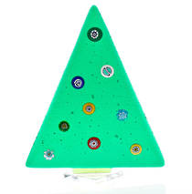 Murano Glass Christmas Trees Medium Solid