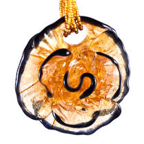 Murano Glass Pendant Flower 1