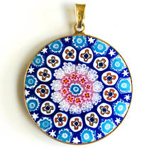 Murano Glass Pendant Millefiori 32mm 3
