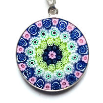 Murano Glass Pendant Millefiori 23mm 16
