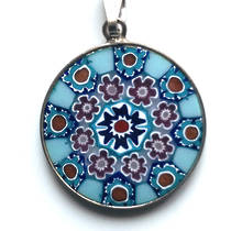 Murano Glass Pendant Millefiori 23mm 15