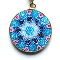 Murano Glass Pendant Millefiori 23mm 10