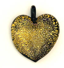 Murano Glass Heart Pendant 6