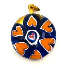 Millefiori Raised Pendant 20mm
