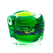 Murano Glass Millefiori Ring Martina Green