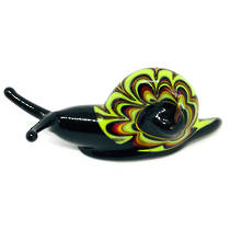 Murano Glass Ornament Snail