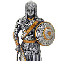 Pewter Warrior with Shield 1
