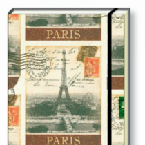 Italian Stationery Hard Back A5 Notebook - Paris