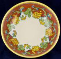 Hand-Painted Ceramics Corallo Serving Bowl Large