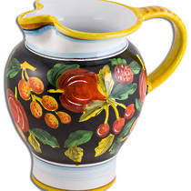 Hand-Painted Ceramics Zafiro Jug 200mm