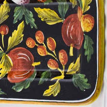 Hand-Painted Ceramics Zafiro Oblong Platter
