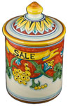 Corallo Salt Cannister