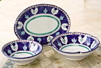 Example of the Amalfi Coast ceramics