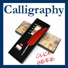 Click to see your selection of Italian Calligraphy Products!