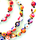 Murano Bead Necklace - multicoloured
