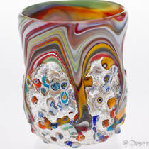 Murano Glass Tumbler Fantasy Medium