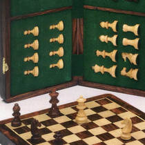 Wooden Magnetic Chess Set 400x400