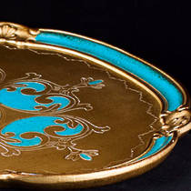 Florentine Serving Tray  oval